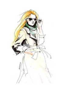 waercolour coat